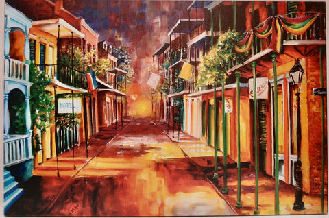 """Twilight In New Orleans"" by Diane Millsap"