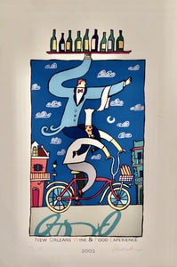 2002 New Orleans Food and Wine Festival Poster