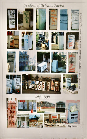 """Fridges of Orleans Parish"" Poster by Joy Gauss"