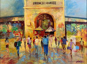 """Nola French Market"" by Stan Fontaine"