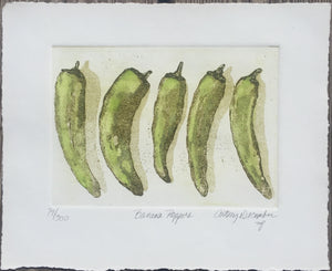 """Banana Peppers"" by Cathey December"