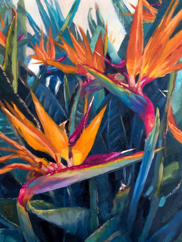 """Birds of Paradise II"" by Kate Tova"