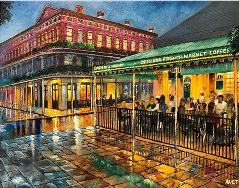 """Cafe du Monde"" by Nicolas Avet"