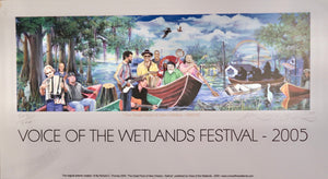 2005 Voice Of The Wetlands Festival Poster