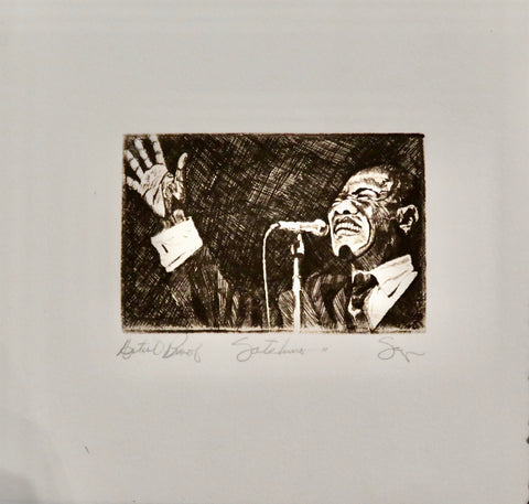 Satchmo II Artist Proof by Phillip Sage