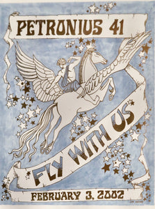 2002 Petronius Fly With Us Poster by Jim Keyes