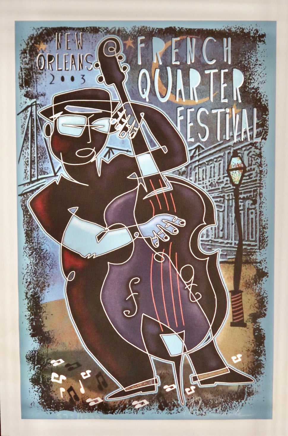 2003 French Quarter Festival Poster
