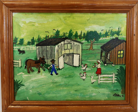 """Farm Life"" by Charles Gillam"