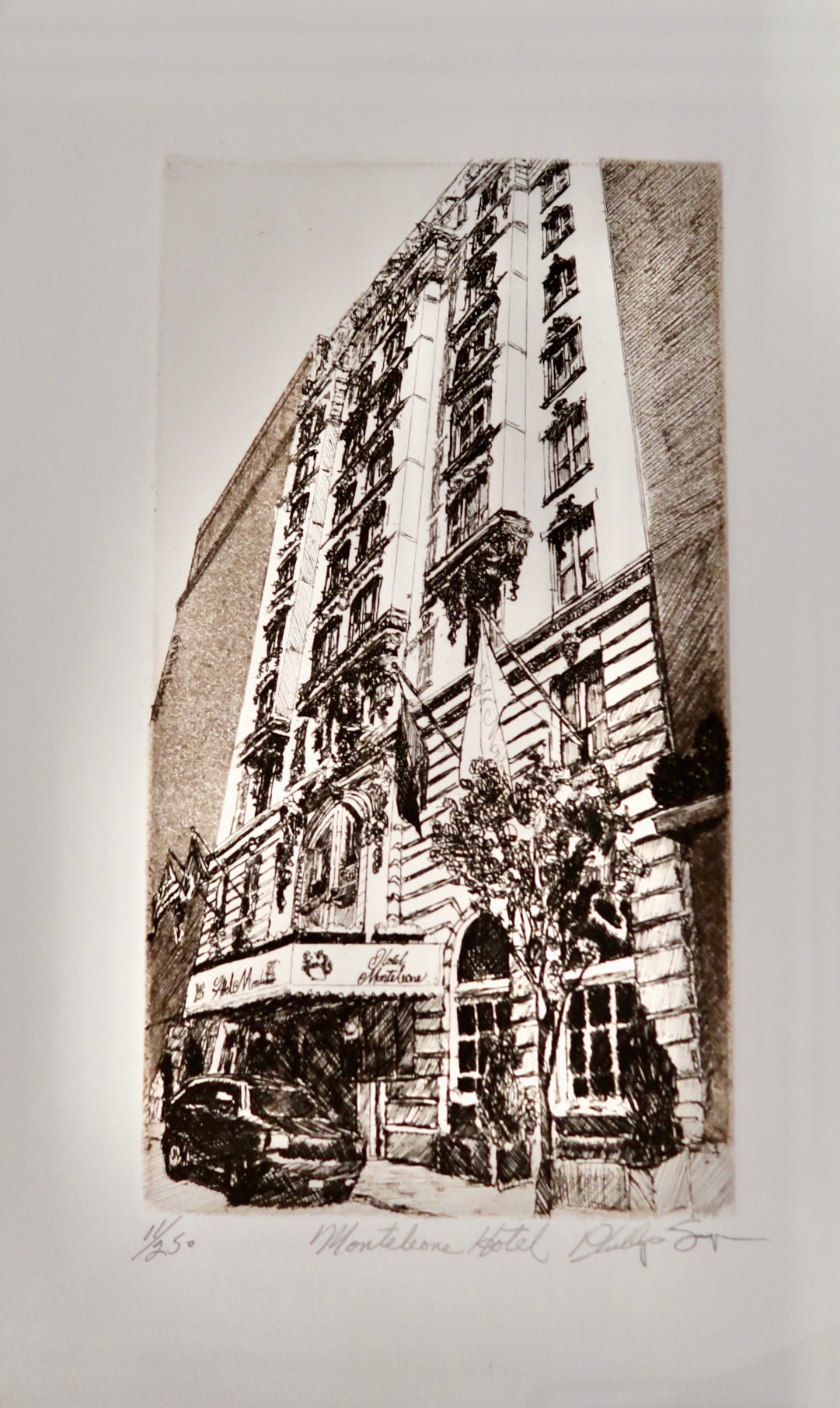 Hotel Monteleone Artist Proof by Phillip Sage