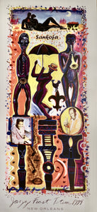 1999 Jazzy Fest Totem Poster