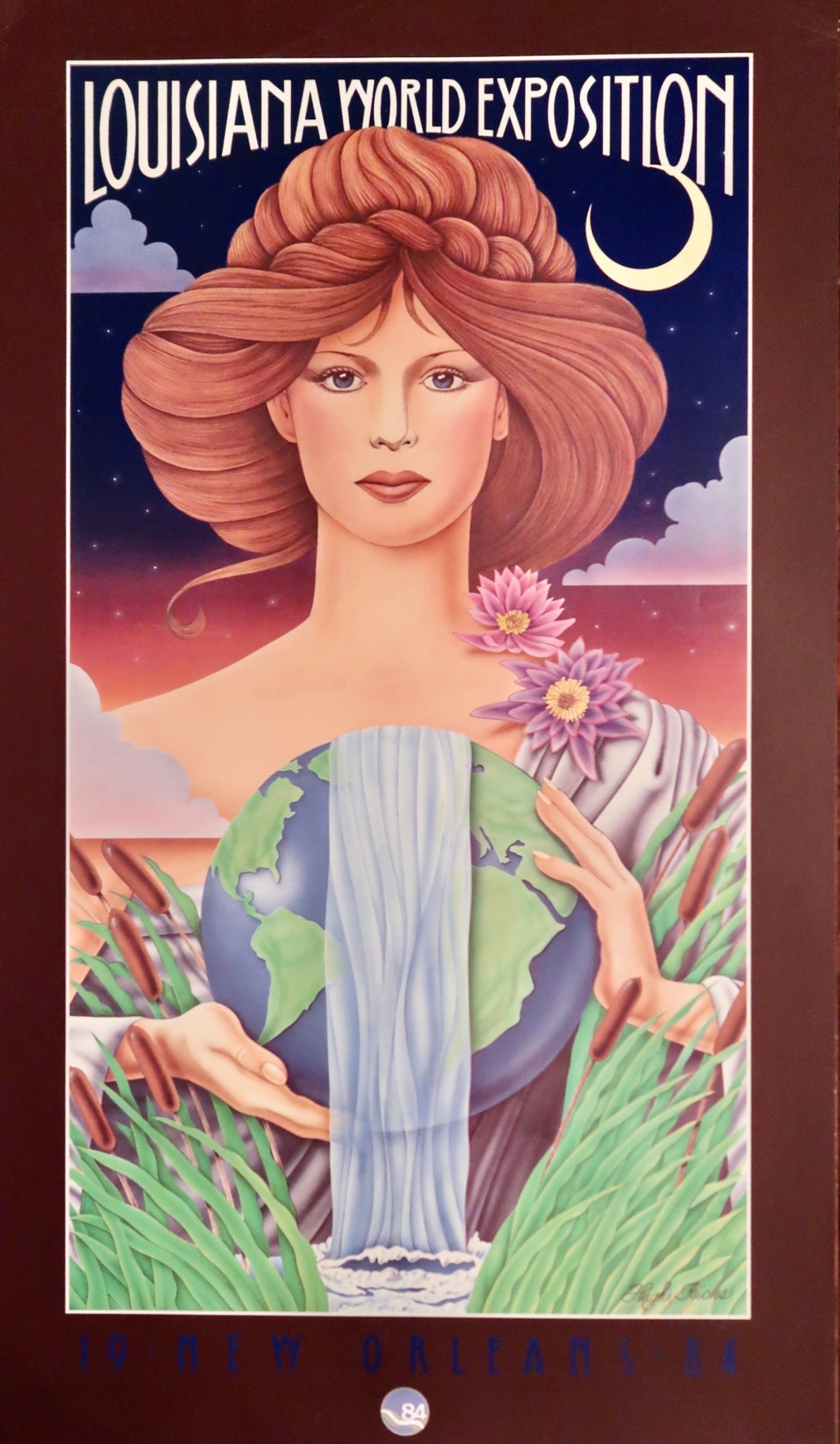 Louisiana World Expo Poster by Hugh Ricks