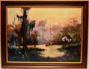 """Bayou Cottage"" by Stan Fontaine"