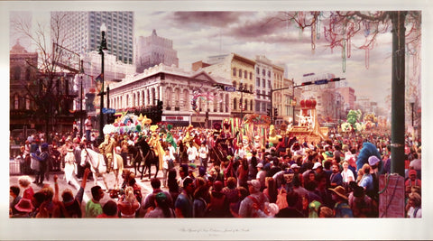 The Spirit of New Orleans Poster by RC Davis