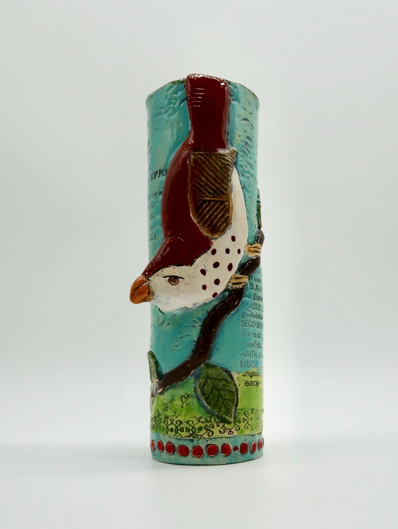 """Bird Vase"" by Joy Gauss"