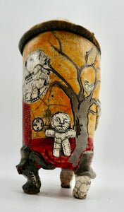 """Walking Pot with Lid"" by Joy Gauss"
