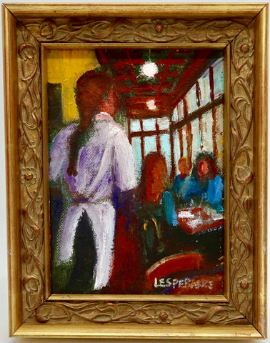 """Wait Staff"" by Linda Lesperance"