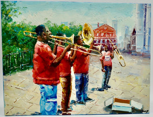 """ Jazz Band"" by Barry Ma"