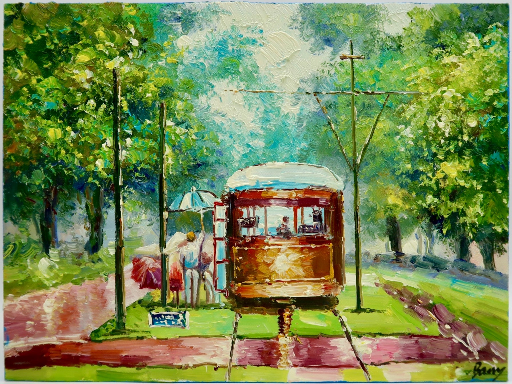 """Streetcar"" by Barry Ma"