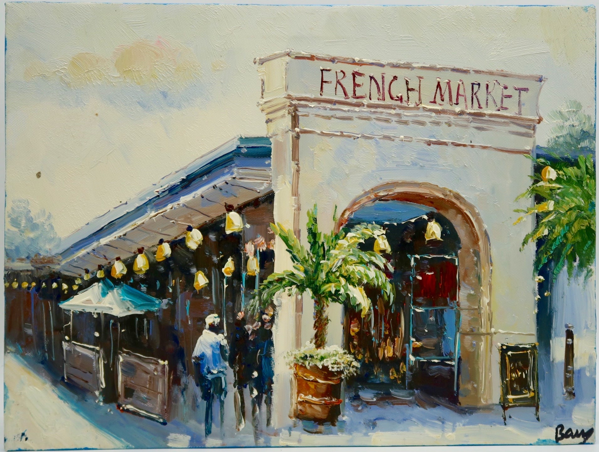 """French Market"" by Barry Ma"