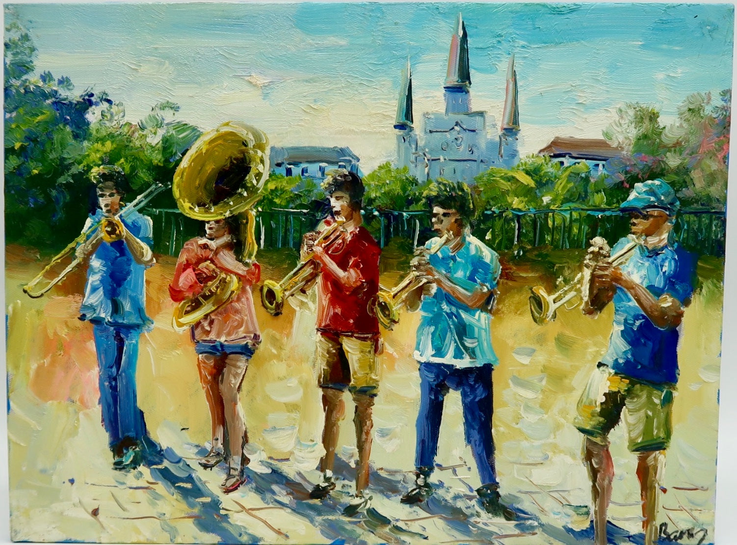 """Jackson Square Band"" by Barry Ma"
