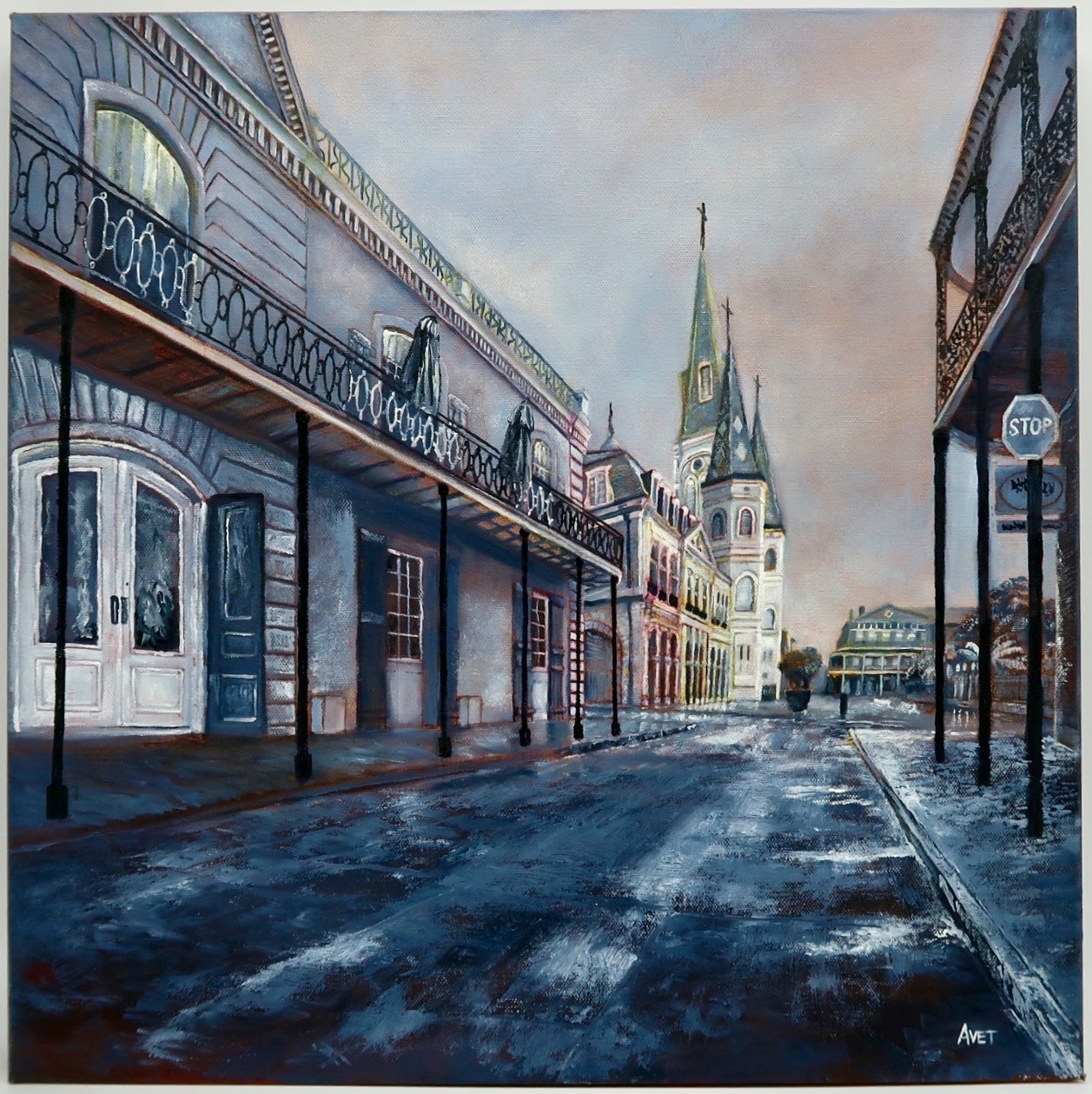 """Chartres Street"" by Nicolas Avet"