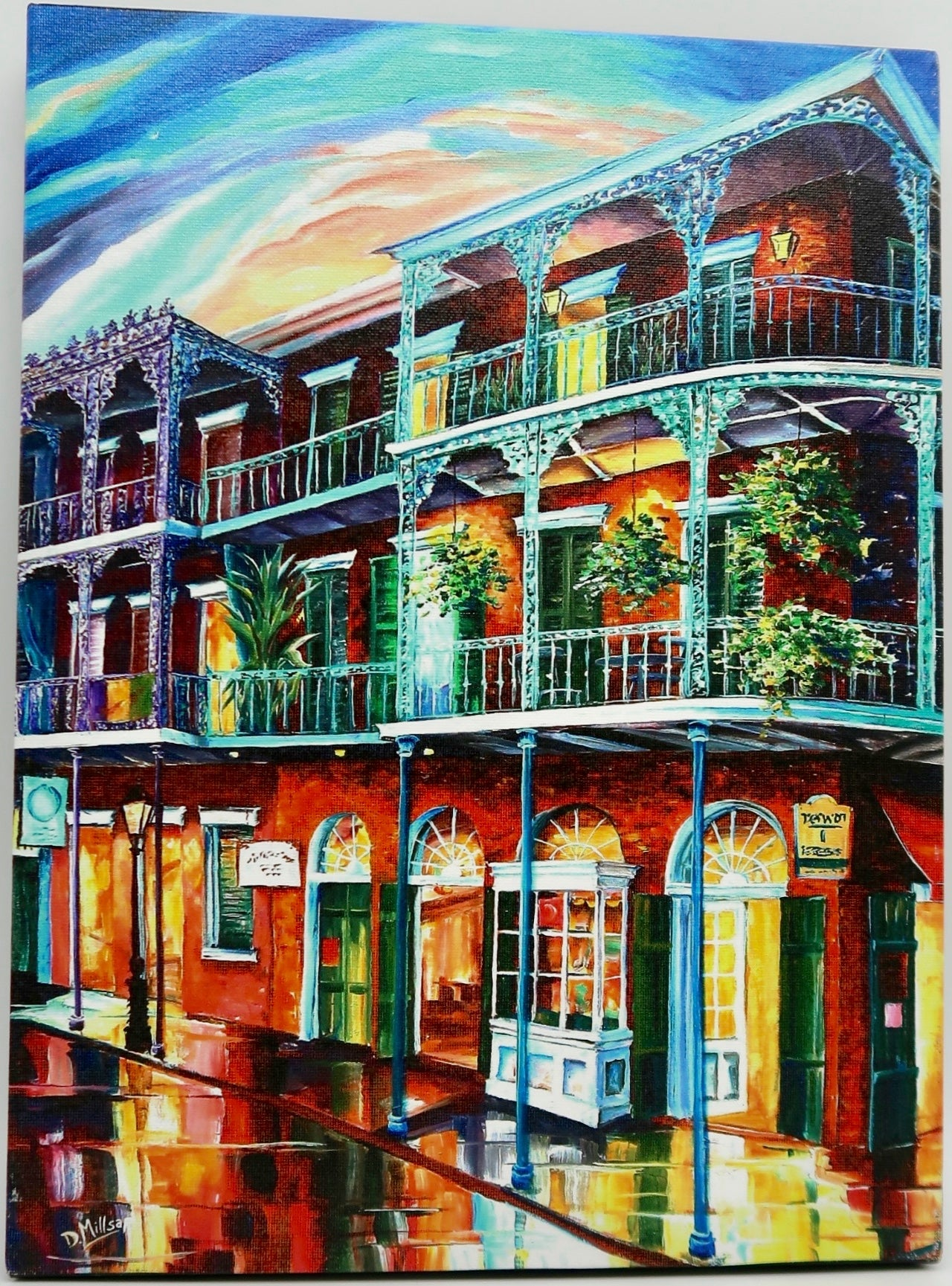 """Balconies On St. Peter Street"" by Diane Millsap"