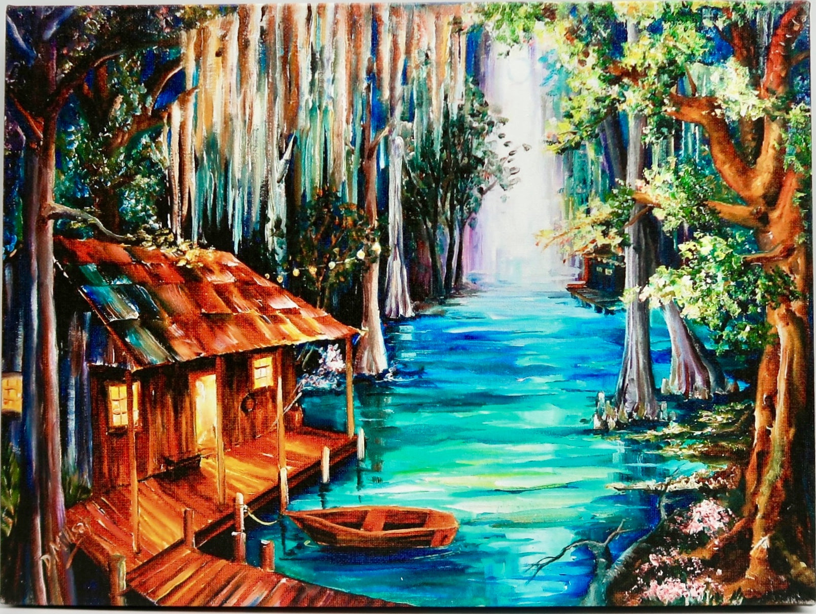 """Moon On The Bayou"" by Diane Millsap"
