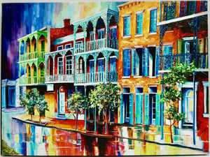 """Rain In Old New Orleans"" by Diane Millsap"