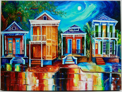 """Moon Over New Orleans"" by Diane Millsap"