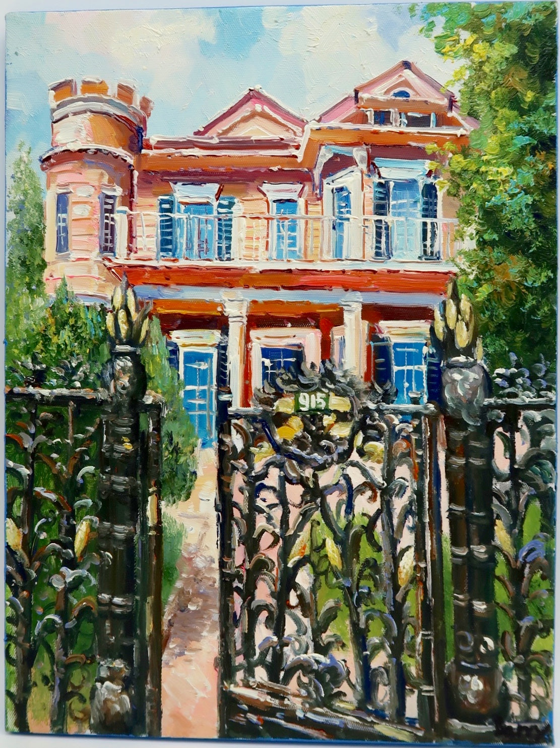 """Garden District Home"" by Barry Ma"