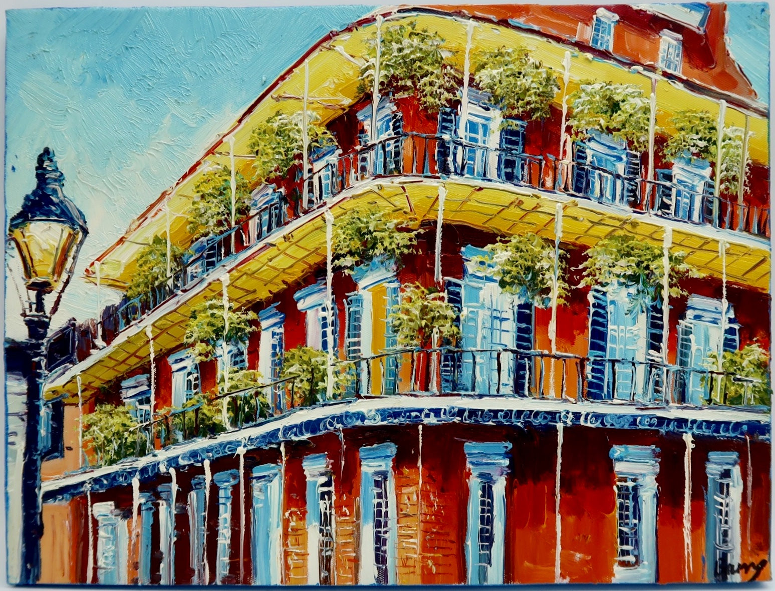 """New Orleans Balcony"" by Barry Ma"