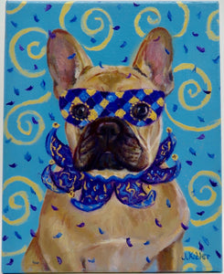 """French Bulldog"" by J. Kobler - Original"