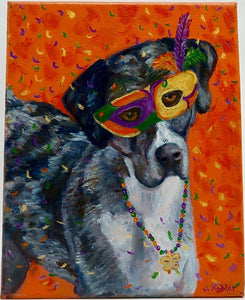 """Catahoula"" by  J. Kobler - Original"
