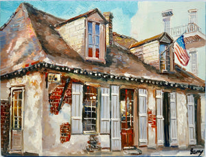 """Lafitte's Blacksmith Bar"" by Barry Ma"