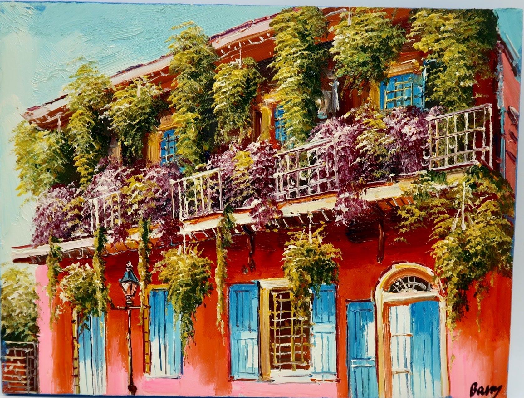 """French Quarter Balcony"" by Barry Ma"