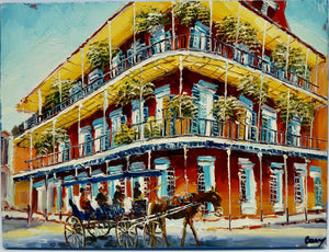 """Buggy Ride Through The Quarter"" by Barry Ma"