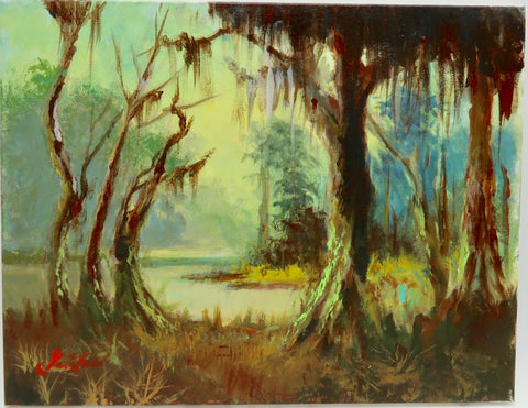 """Bayou"" by Stan Fontaine"