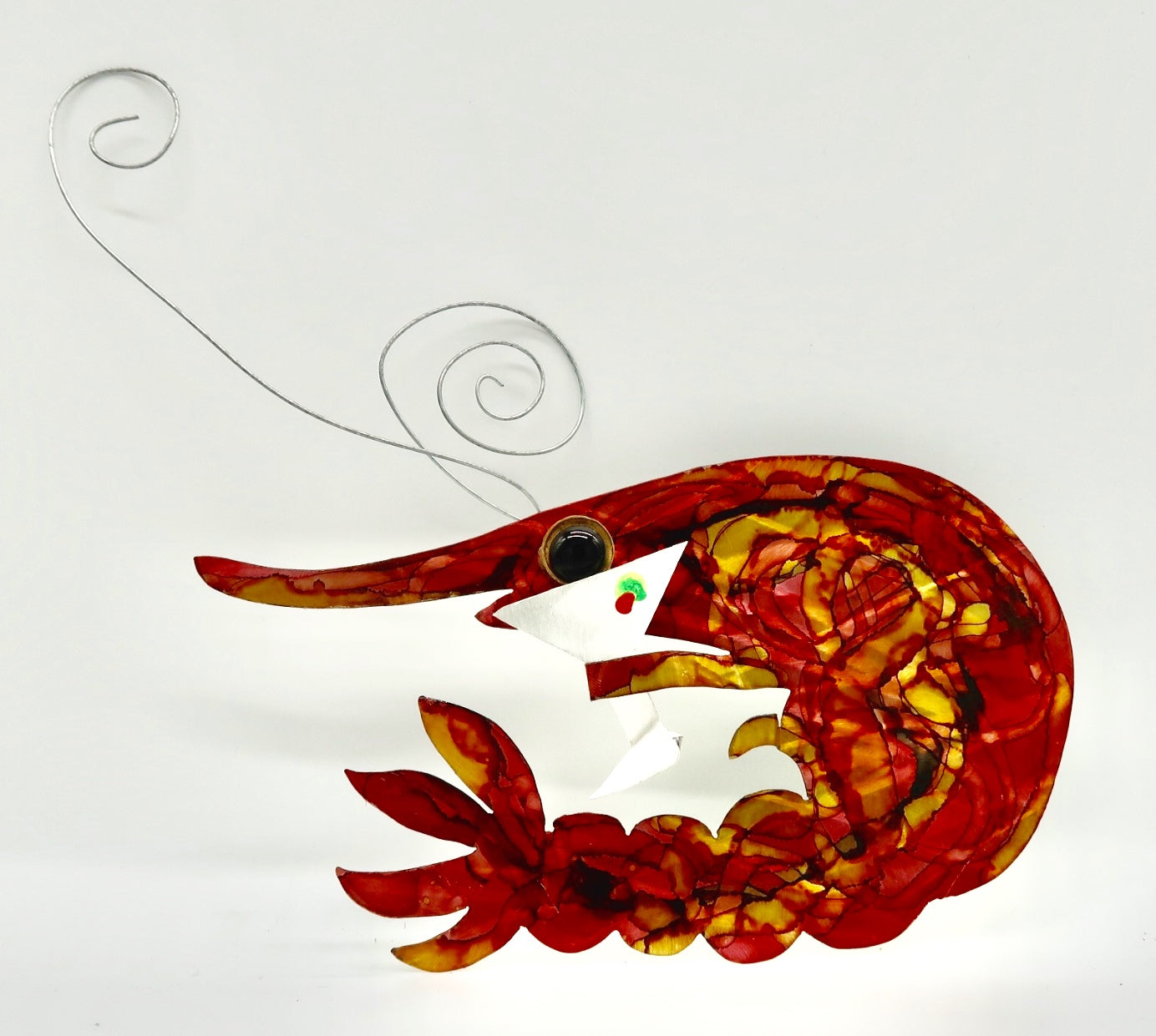 Metal Art Martini Crawfish