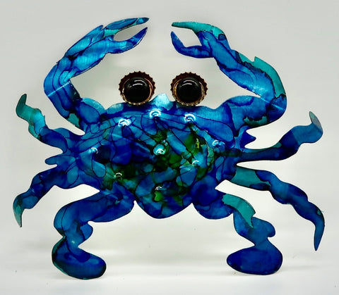 Metal Art Crab