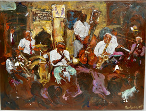 """Preservation Hall"" by Winkie Fontaine"
