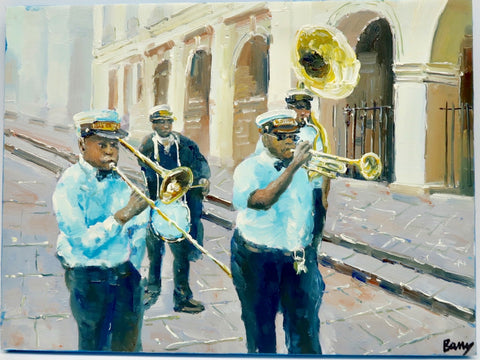 """Jazz Band"" by Barry Ma"