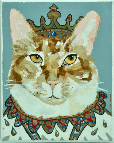 Regal Orange Cat