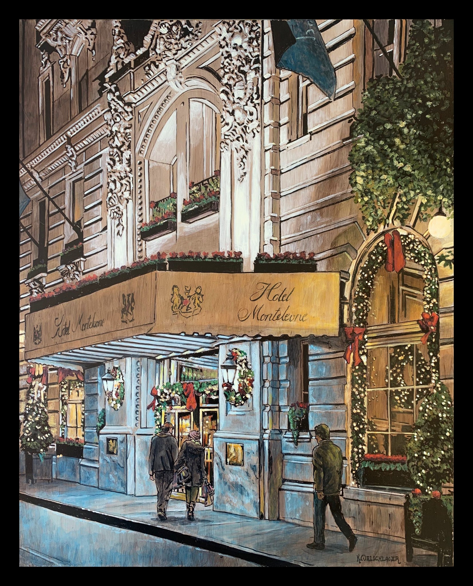 """Monteleone In Christmas"" by Keith Oelschlager"