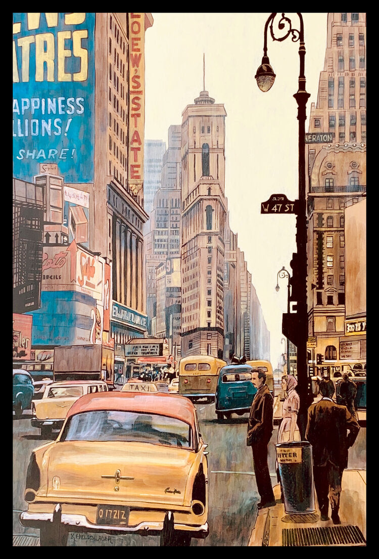 """West 47th St."" by Keith Oelschlager"