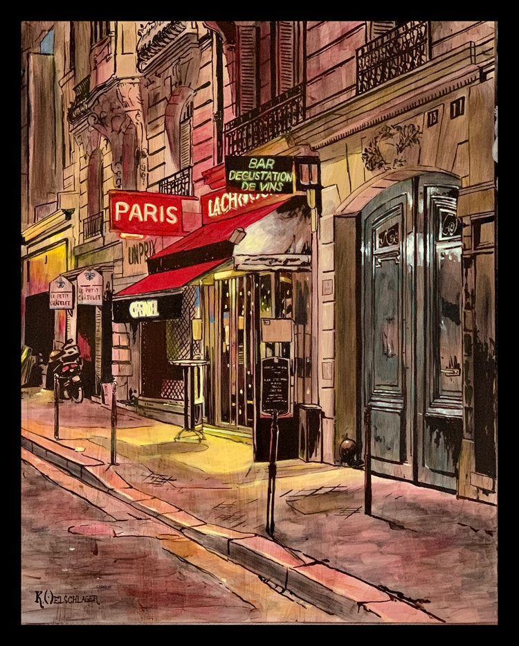 """Vins De Paris"" by Keith Oelschlager"