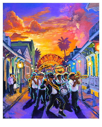 """Second Line"" Print by Mellissa Moore"