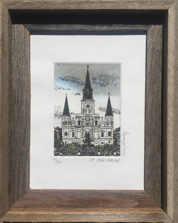 """St. Louis Cathedral"" by Cathey December"