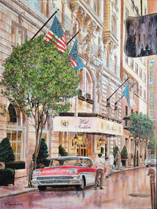 """Hotel Monteleone In Summer"" by Keith Oelschlager"
