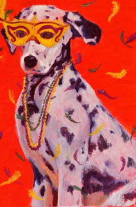 Mardi Gras Mutts: Dalmation