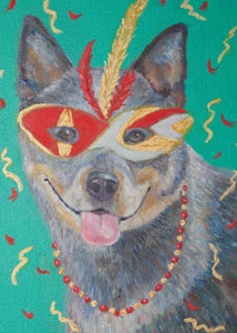 Mardi Gras Mutts: Australian Cattle Dog II
